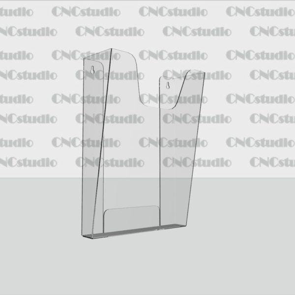 К-5 Карман А4 вертикальный обьемный, акрил 1,8 мм