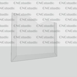 К-7 Карман плоский А4 горизонтальный, ПЭТ 0,8 мм