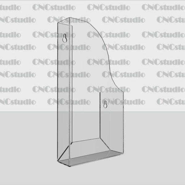 К-8 Карман обьемный Еврофлаер, акрил 1,8 мм