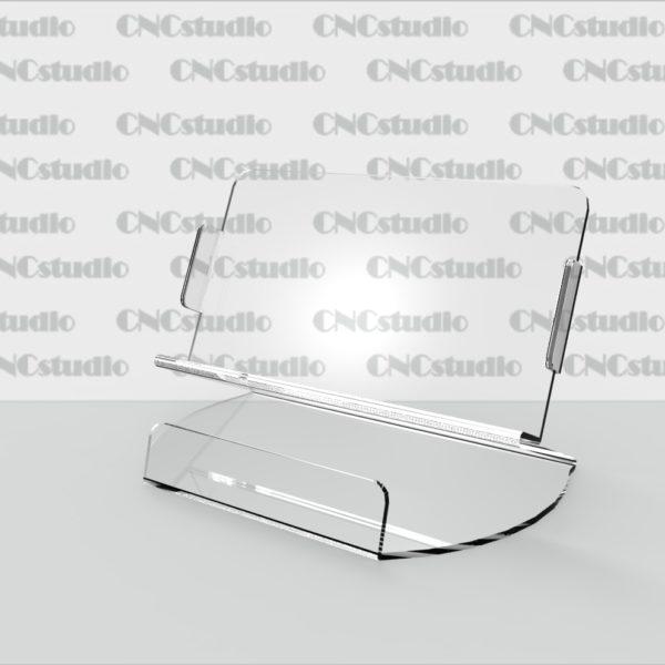 М-1 Подставка под планшет 3 мм. Габариты планшета 190х105х20 мм