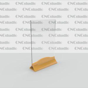 М-16 А4 вертикальный 1,8 мм, 3 мм цветная ножка