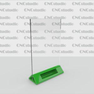 М-18 А5 вртикальный 1,8 мм, 3 мм цветная нога с прорезью для визитки