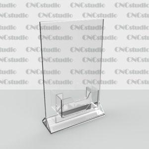 М-5  А5 вериткальный 1,8 мм, визитница на скотче, ножка 3 мм