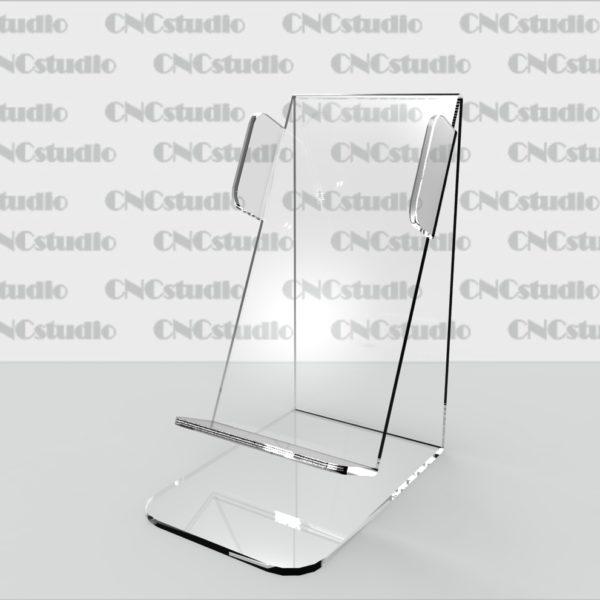 М-7 Под мобильный телефон акрил 3 мм. Размер внутренний для телефона 55х105х20