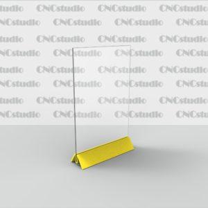 M-4  А4 вертикалный 1,8 мм 3 мм цветная ножка
