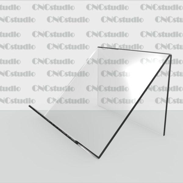 Q-2 Подставка для кошелька 1,8 мм. Габариты экрана под кошелек 100х100 мм.