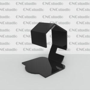 Q-4.1 Подставка под часы акрил цветной 3мм. Габариты 90х100х103