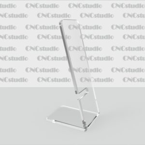 Q-5.1 Подставка под часы акрил 3 мм. Габариты 30х90х40