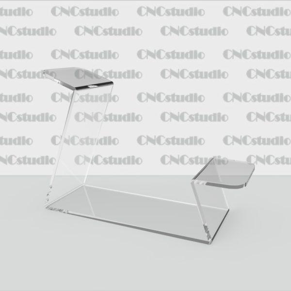 S-9 Подставка для обуви акрил 3 мм. Габариты 60х125х175