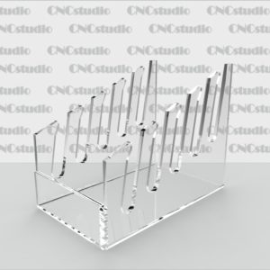 D-3 Подставка под столовые приборы акрил 3мм. Габариты 76х98х120
