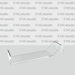 S-2 Подставка для обуви акрил 1,8мм. Габариты 55х38х212