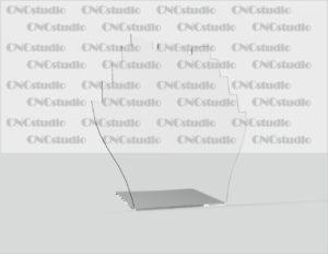 U-31 Подставка для бижутерии. Акрил 1,8 мм. Габариты 180х180х75 мм.