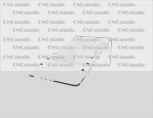 U-8 Под цепочки акрил 3 мм. Габариты 110х80х205